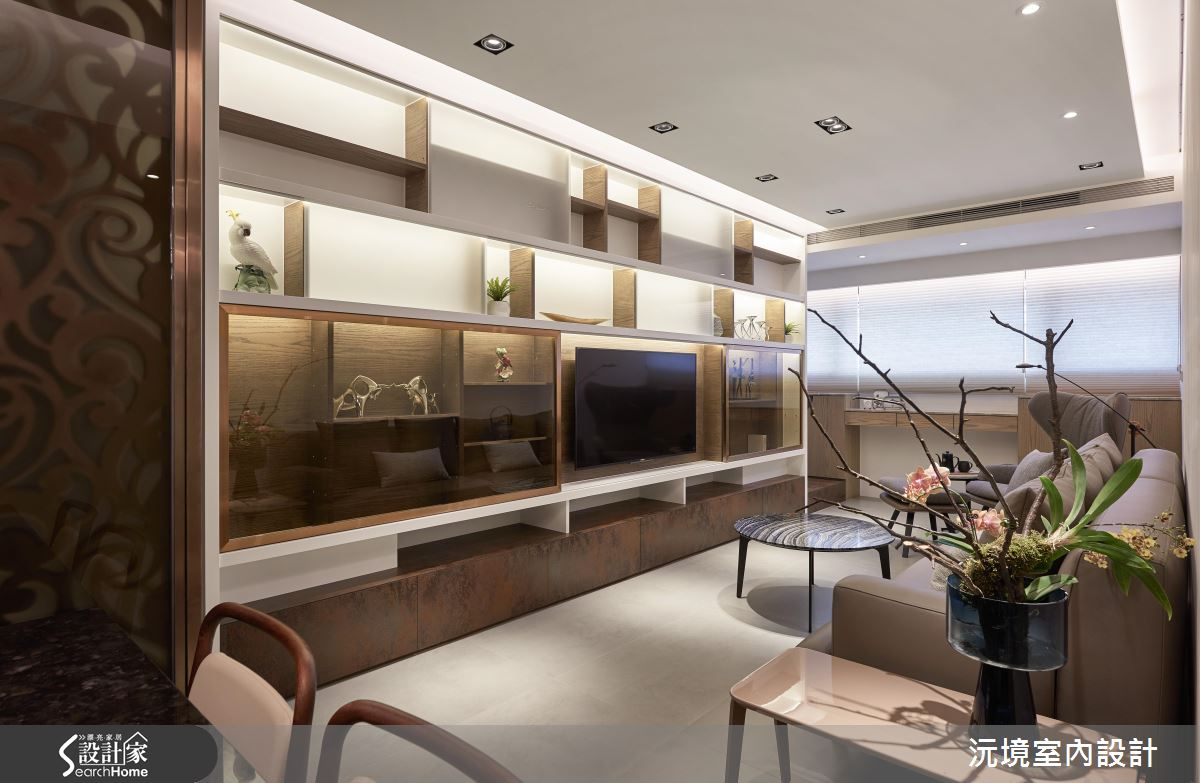 27坪木質感3房2廳  培養居家沉穩氣度新格局