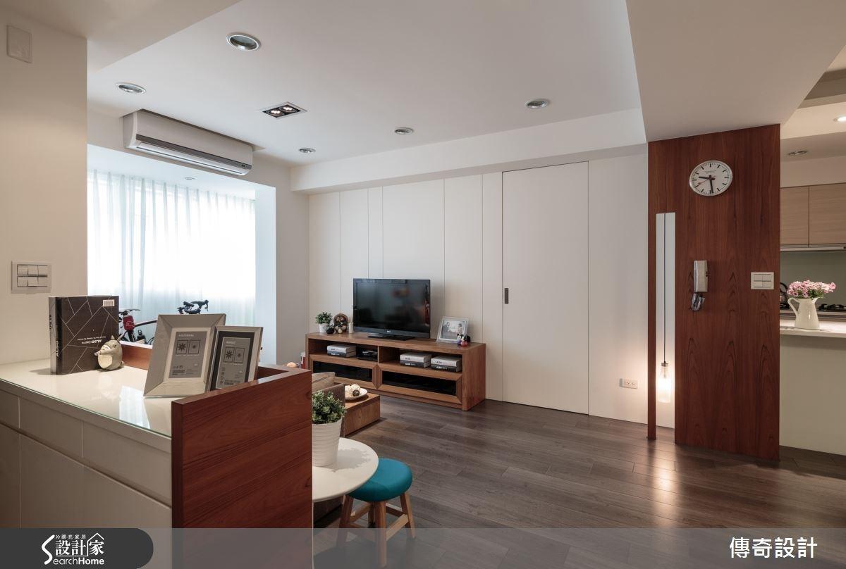 28坪老屋(16~30年)_北歐風案例圖片_傳奇室內裝修設計有限公司_傳奇_01之1