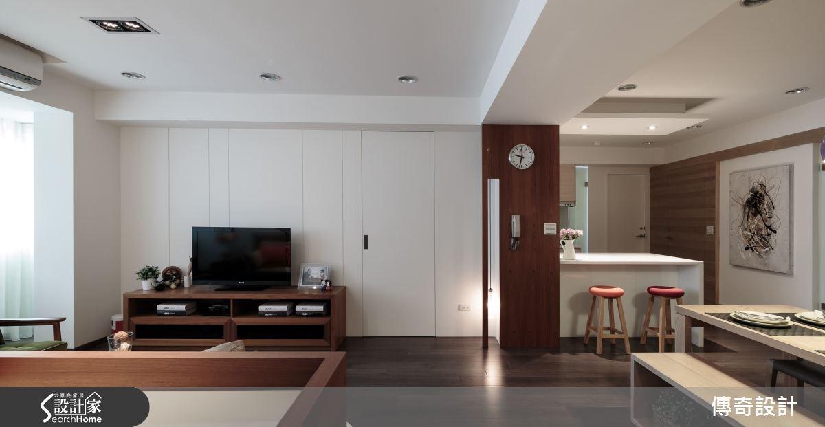 28坪老屋(16~30年)_北歐風案例圖片_傳奇室內裝修設計有限公司_傳奇_01之3