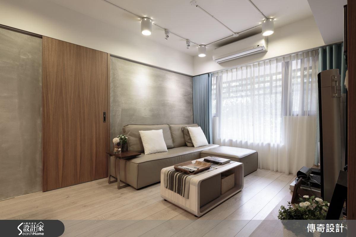 18坪新成屋(5年以下)_混搭風案例圖片_傳奇室內裝修設計有限公司_傳奇_02之2