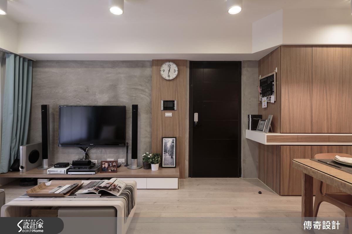 18坪新成屋(5年以下)_混搭風案例圖片_傳奇室內裝修設計有限公司_傳奇_02之3