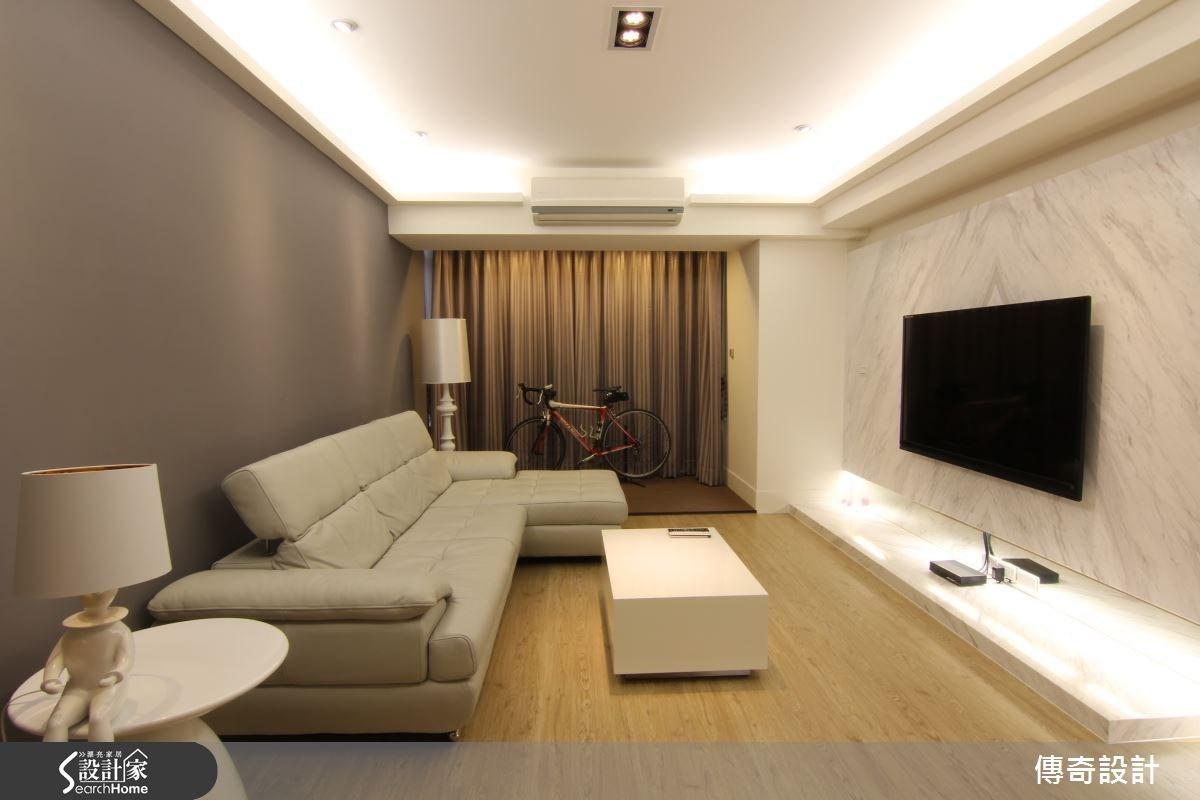 28坪中古屋(5~15年)_現代風案例圖片_傳奇室內裝修設計有限公司_傳奇_04之2
