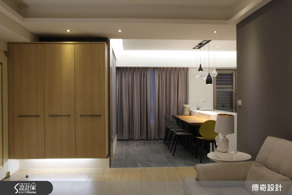28坪中古屋(5~15年)_現代風案例圖片_傳奇室內裝修設計有限公司_傳奇_04之3