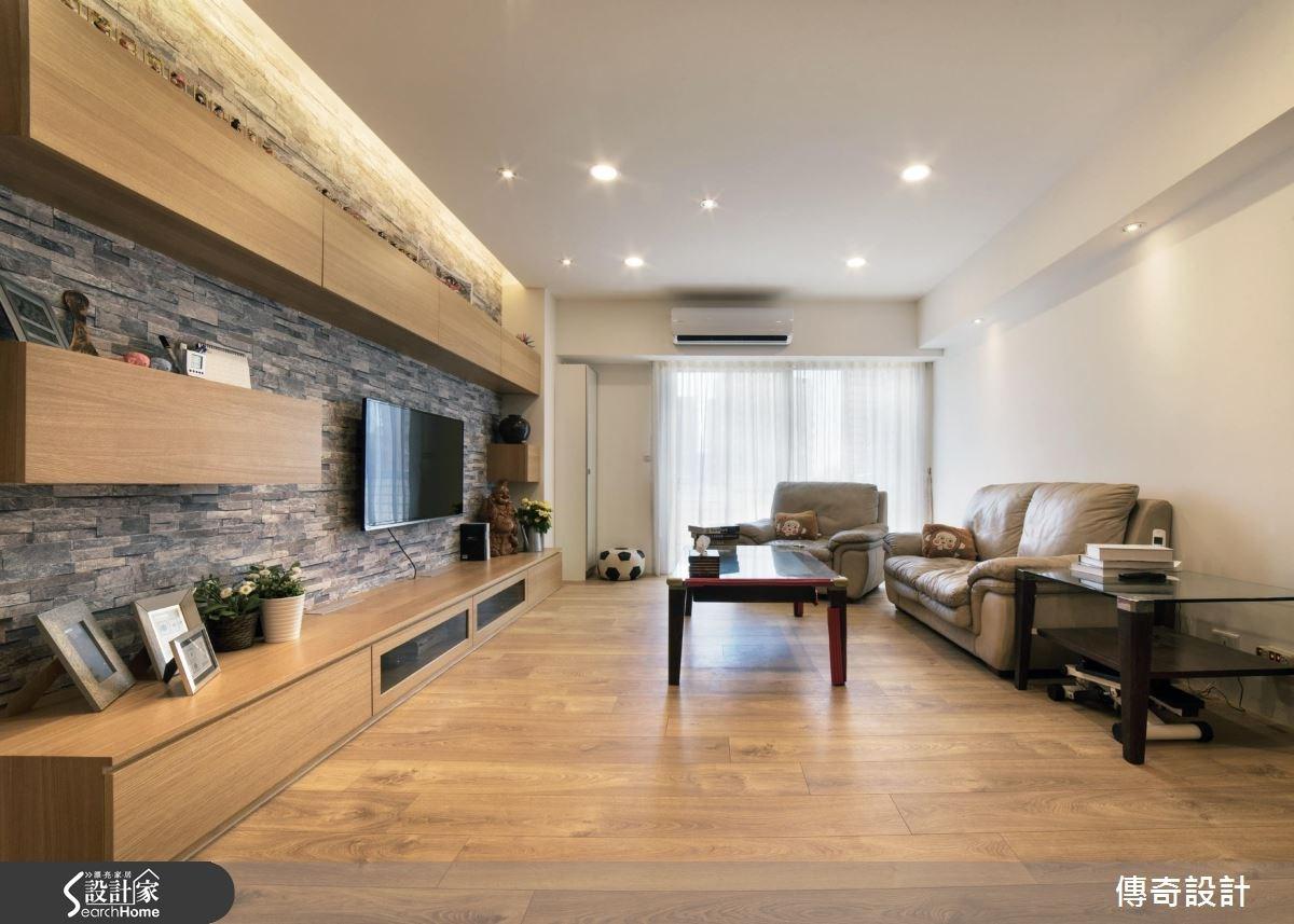 40坪老屋(16~30年)_現代風案例圖片_傳奇室內裝修設計有限公司_傳奇_07之1