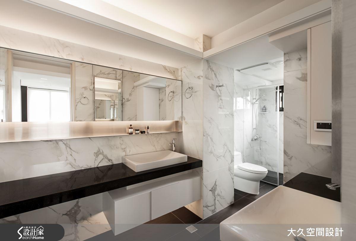 老屋(16~30年)_簡約風浴室案例圖片_大久空間設計有限公司_大久_01之14