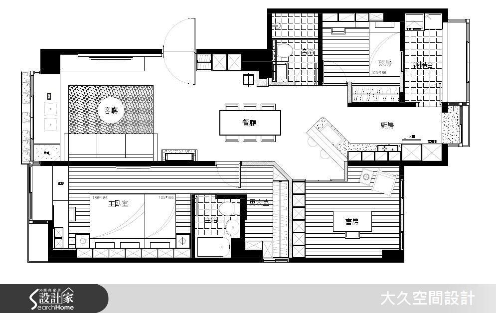30坪老屋(16~30年)_簡約風案例圖片_大久空間設計有限公司_大久_04之10