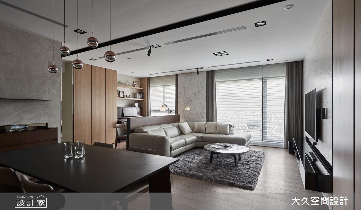 新成屋(5年以下)_奢華風客廳餐廳案例圖片_大久空間設計有限公司_大久_14之3