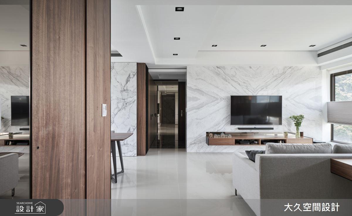 40坪新成屋(5年以下)_奢華風客廳案例圖片_大久空間設計有限公司_大久_15之1
