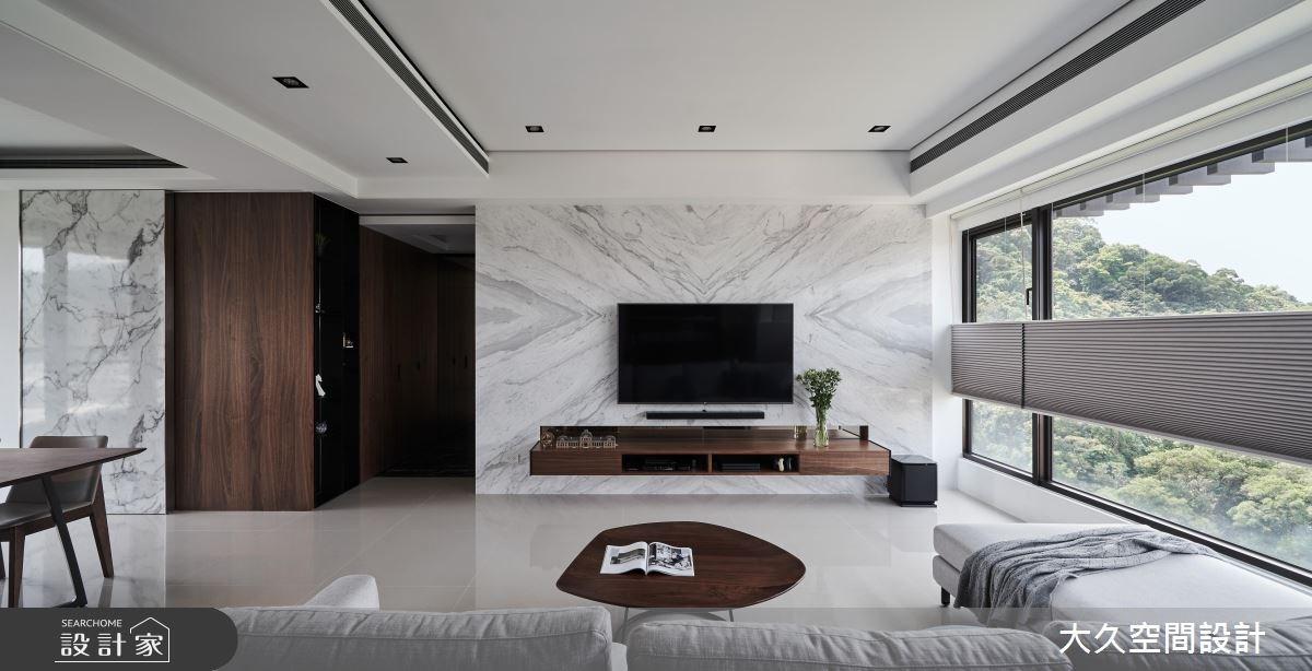 40坪新成屋(5年以下)_奢華風客廳案例圖片_大久空間設計有限公司_大久_15之2