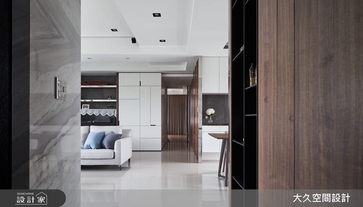 40坪新成屋(5年以下)_奢華風走廊案例圖片_大久空間設計有限公司_大久_15之4