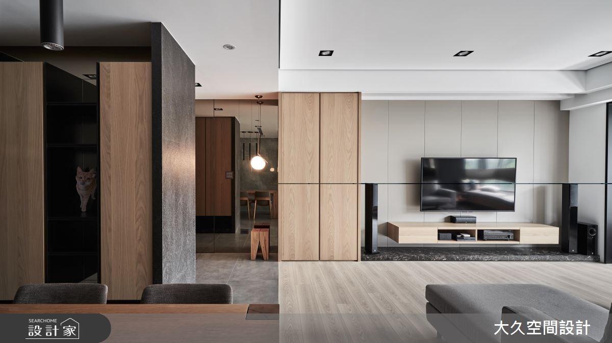 新成屋(5年以下)_休閒風客廳案例圖片_大久空間設計有限公司_大久_16之2