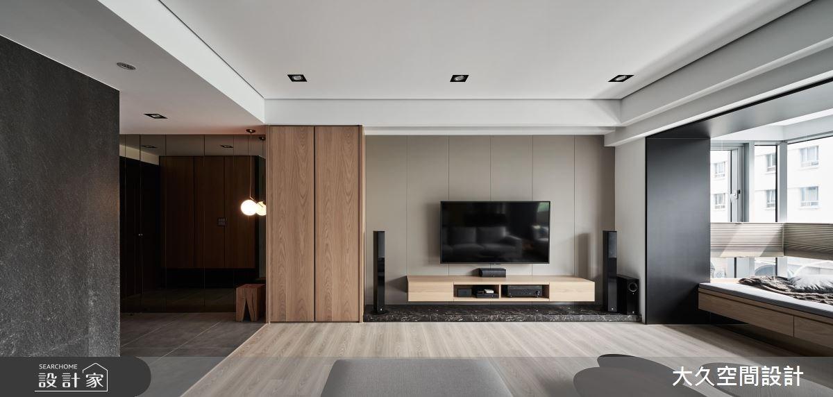 新成屋(5年以下)_休閒風客廳案例圖片_大久空間設計有限公司_大久_16之3
