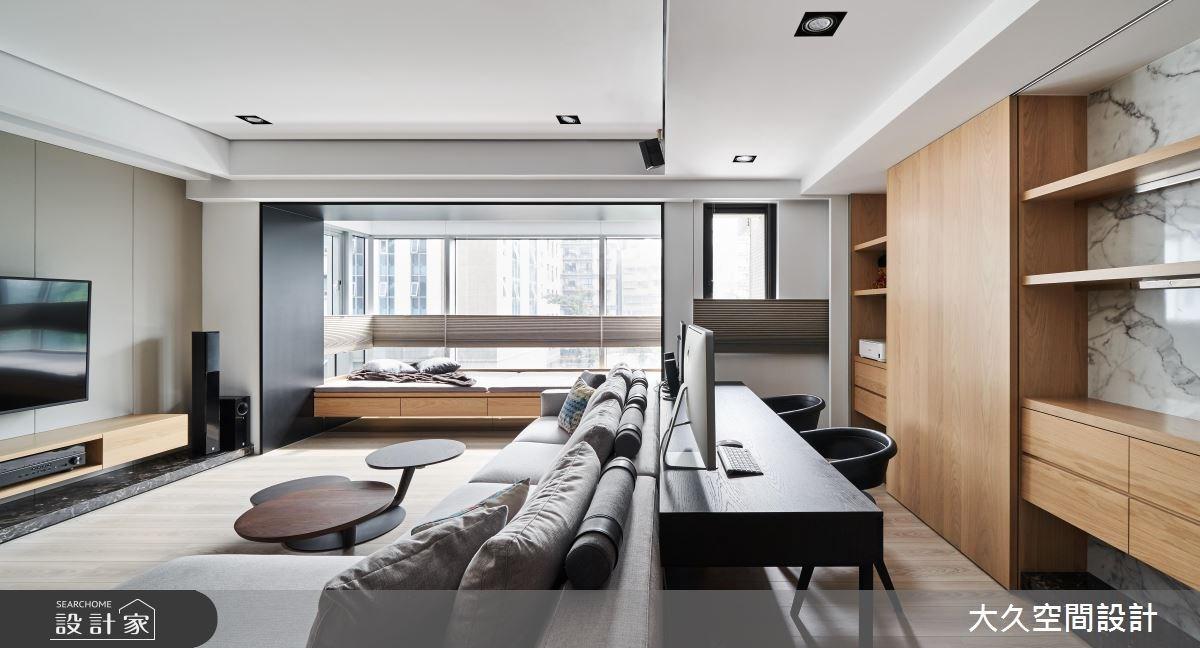 新成屋(5年以下)_休閒風客廳書房案例圖片_大久空間設計有限公司_大久_16之4