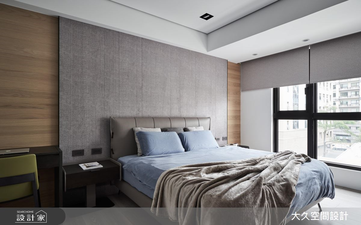新成屋(5年以下)_休閒風臥室案例圖片_大久空間設計有限公司_大久_16之13