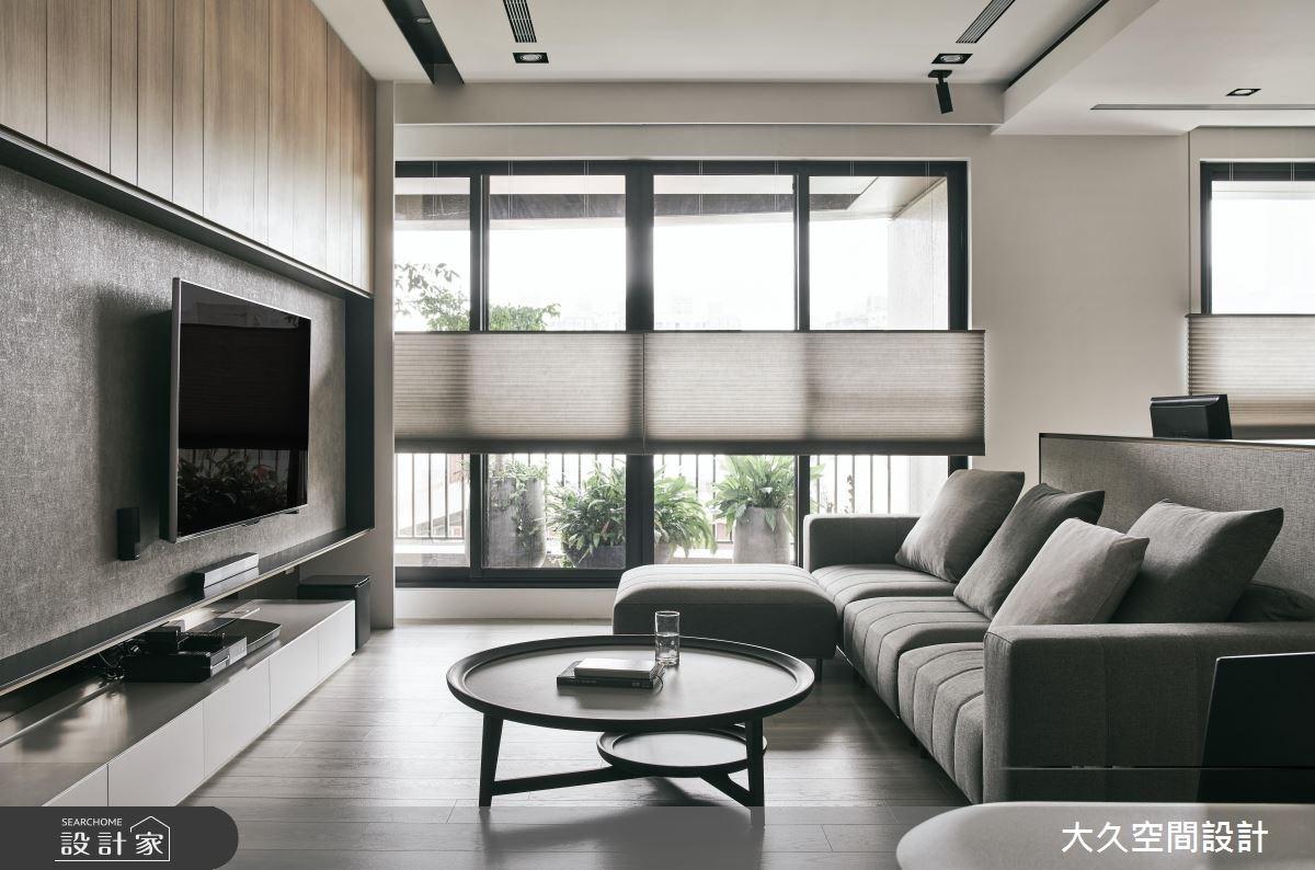 新成屋(5年以下)_休閒風客廳案例圖片_大久空間設計有限公司_大久_17之3