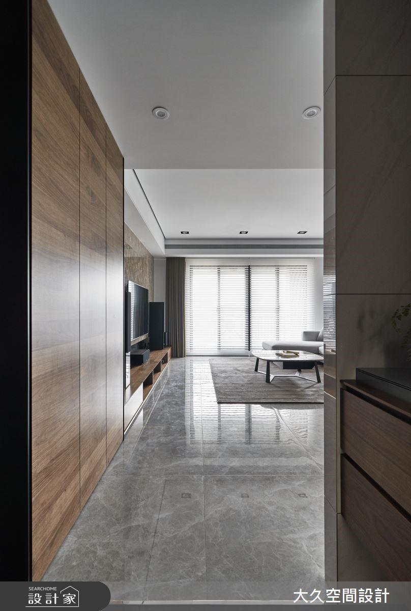 39坪新成屋(5年以下)_現代風玄關客廳案例圖片_大久空間設計有限公司_大久_20之2