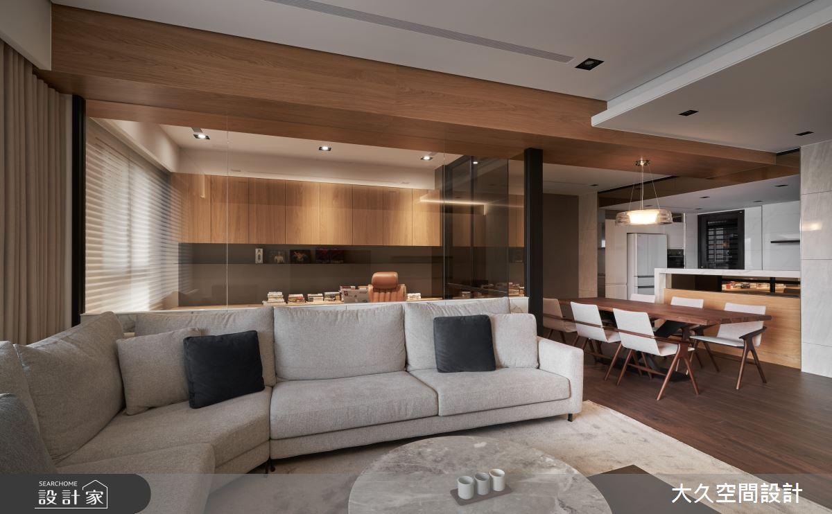 新成屋(5年以下)_人文禪風客廳案例圖片_大久空間設計有限公司_大久_21之4