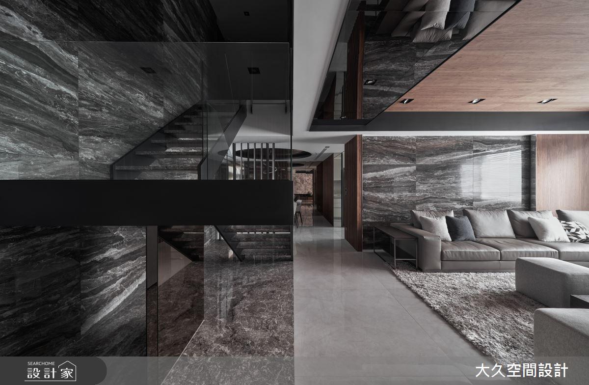 66坪中古屋(5~15年)_現代風客廳案例圖片_大久空間設計有限公司_大久_24之4