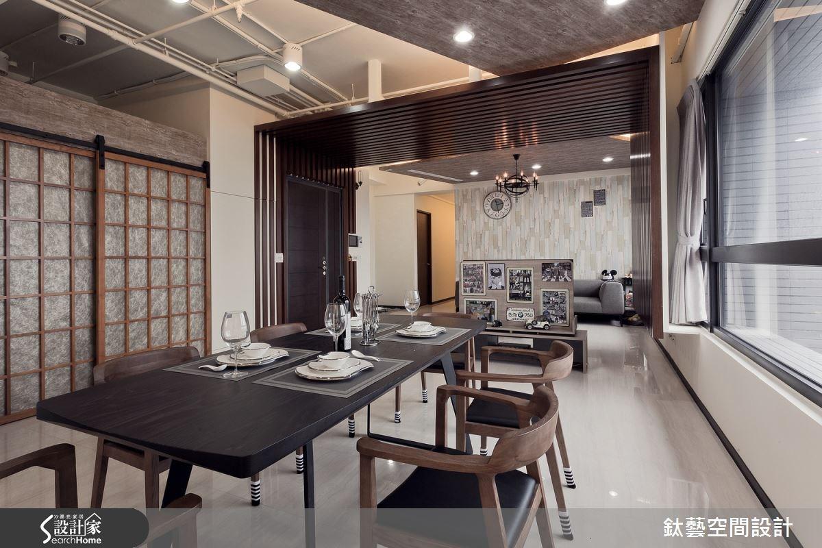 50坪新成屋(5年以下)_工業風案例圖片_鈦藝空間設計_鈦藝_01之4