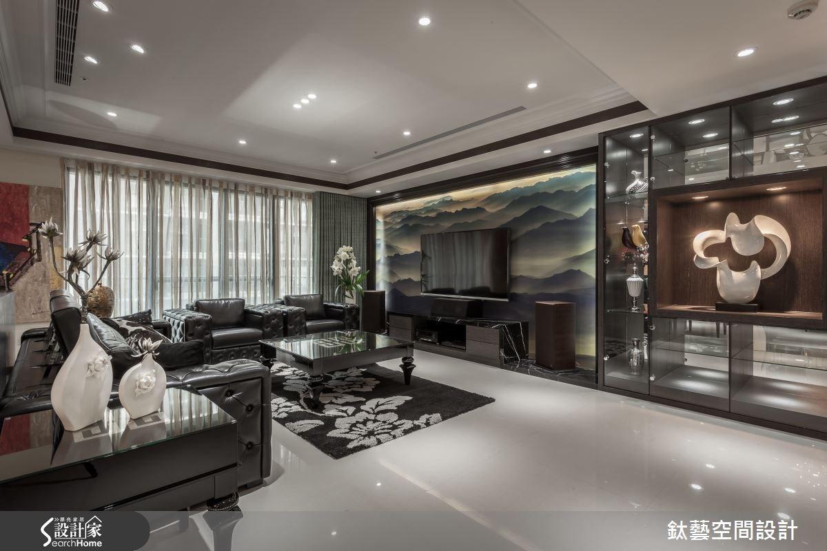 50坪新成屋(5年以下)_混搭風案例圖片_鈦藝空間設計_鈦藝_05之4