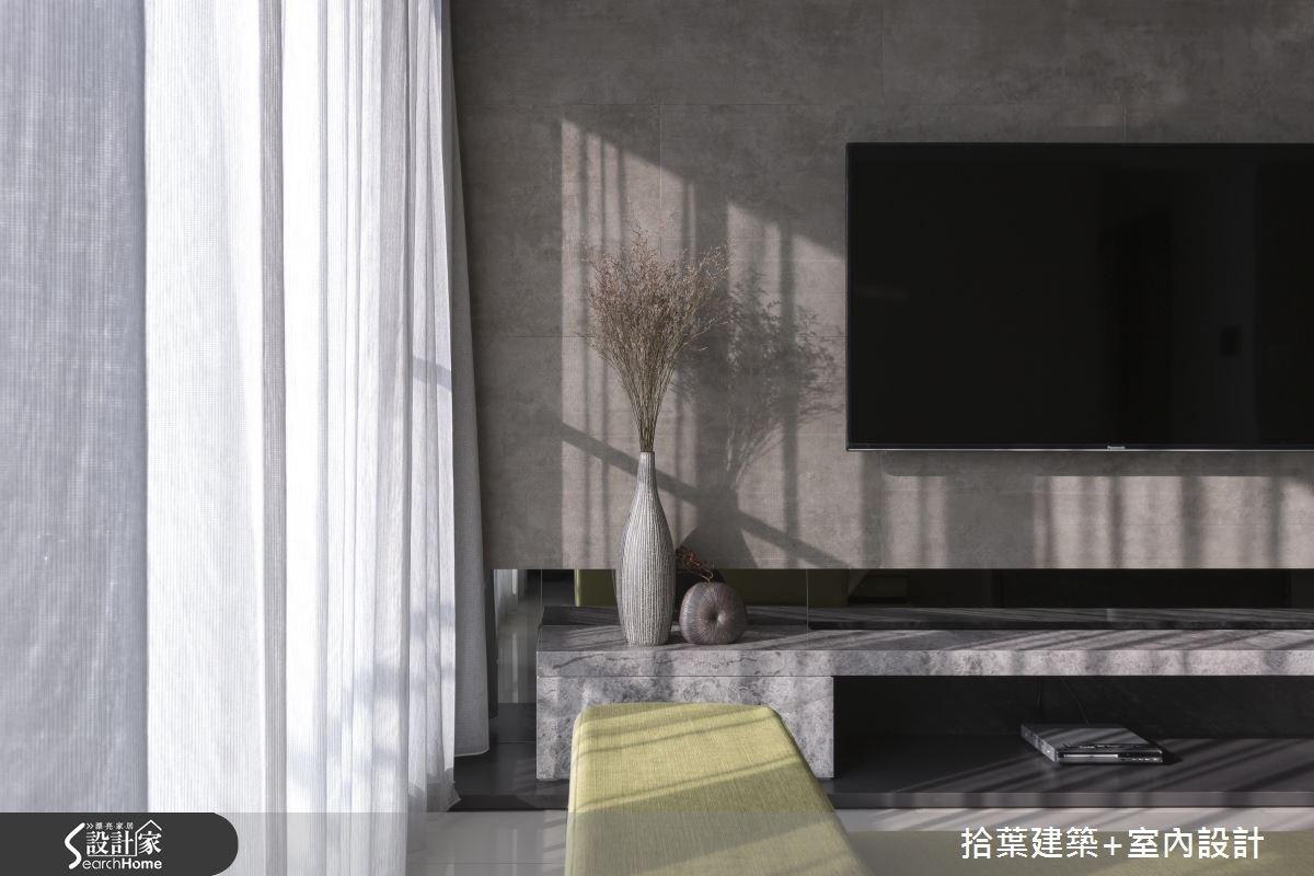 25坪新成屋(5年以下)_現代風客廳案例圖片_拾葉建築+室內設計_拾葉_12之7
