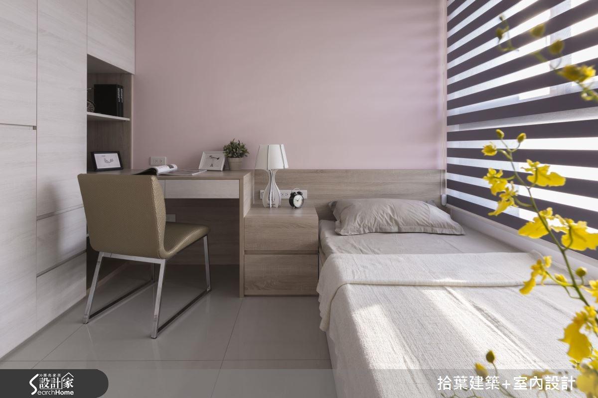 25坪新成屋(5年以下)_現代風臥室案例圖片_拾葉建築+室內設計_拾葉_12之12