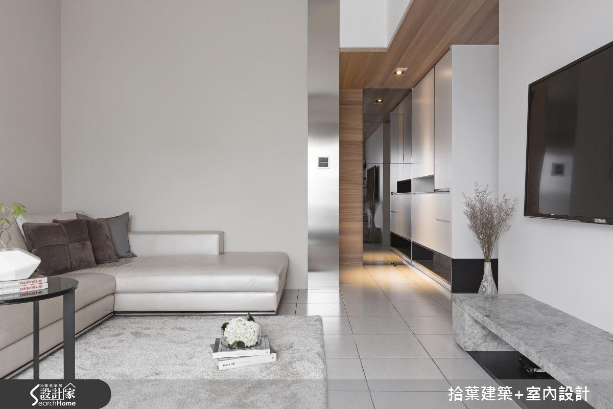 35坪老屋(16~30年)_現代風案例圖片_拾葉建築+室內設計_拾葉_16之2