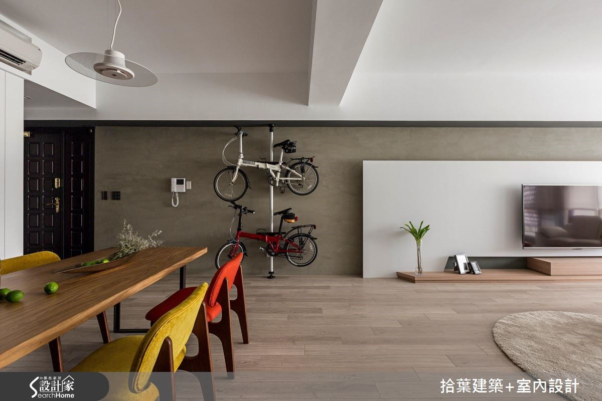 35坪新成屋(5年以下)_現代風案例圖片_拾葉建築+室內設計_拾葉_17之3