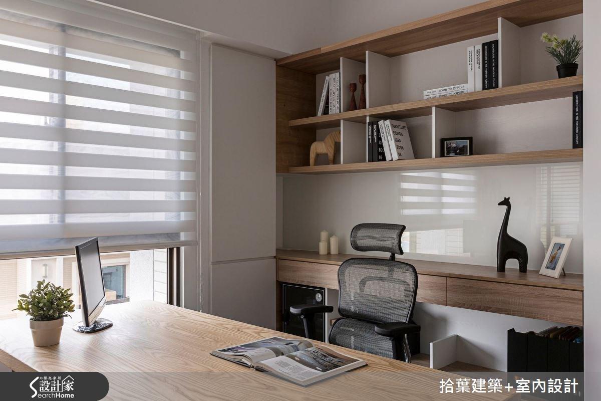 35坪新成屋(5年以下)_現代風客廳案例圖片_拾葉建築+室內設計_拾葉_17之10