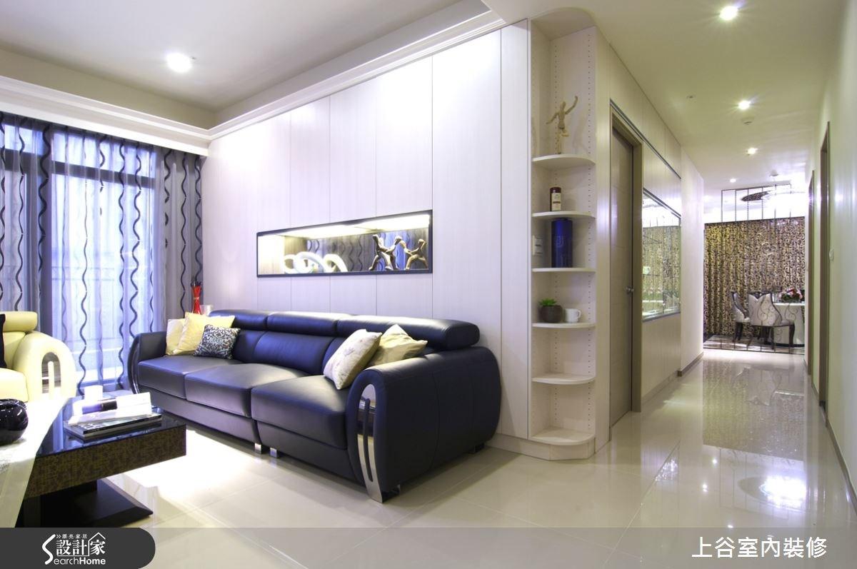 38坪新成屋(5年以下)_奢華風案例圖片_上谷室內裝修有限公司_上谷_01之3