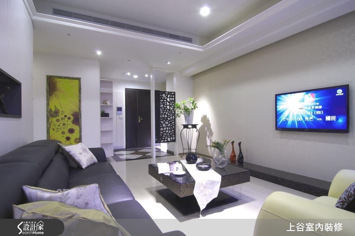 38坪新成屋(5年以下)_奢華風案例圖片_上谷室內裝修有限公司_上谷_01之4
