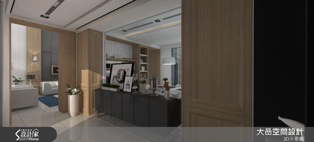 129坪預售屋_新古典走廊案例圖片_大嵒空間設計_大嵒_13之1