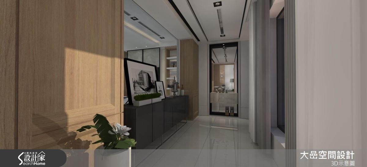 129坪預售屋_新古典走廊案例圖片_大嵒空間設計_大嵒_13之2