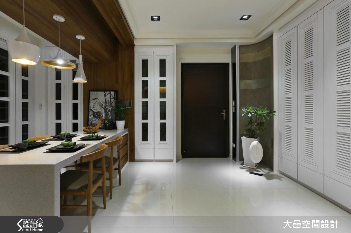 新成屋(5年以下)_美式風玄關餐廳案例圖片_大嵒空間設計_大嵒_14之1