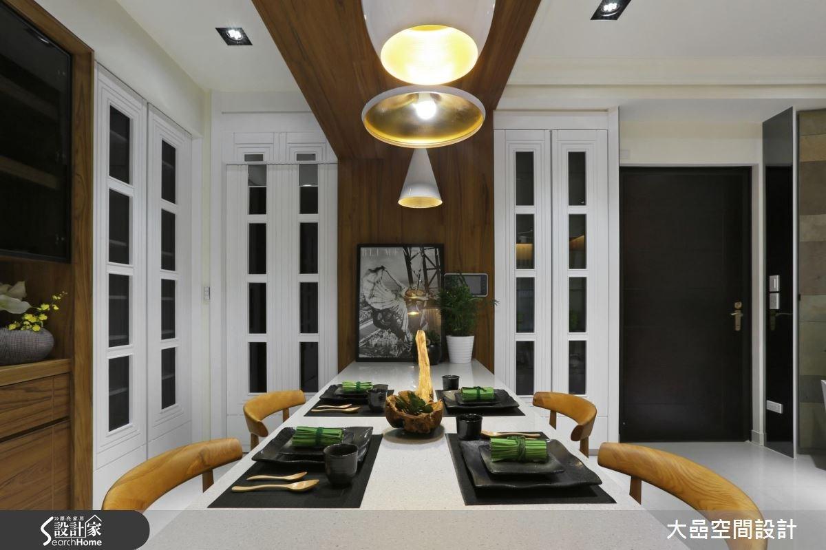 新成屋(5年以下)_美式風餐廳案例圖片_大嵒空間設計_大嵒_14之2