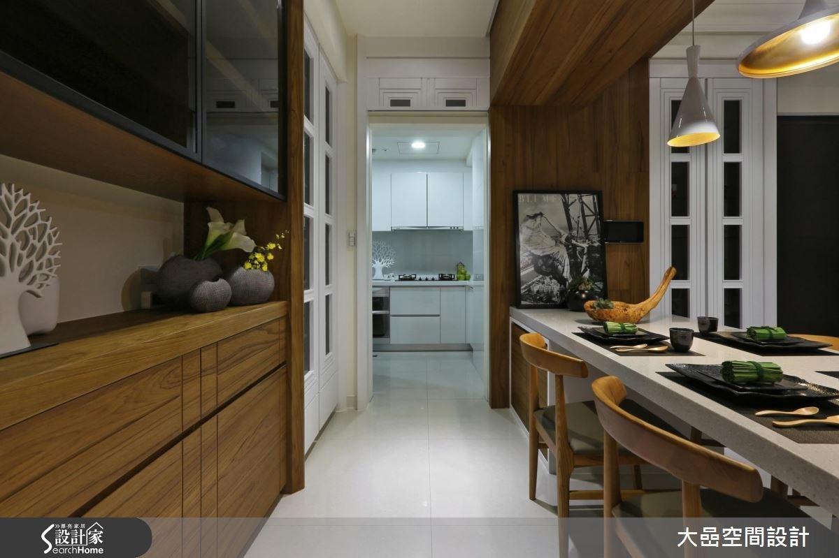 新成屋(5年以下)_美式風餐廳廚房案例圖片_大嵒空間設計_大嵒_14之3