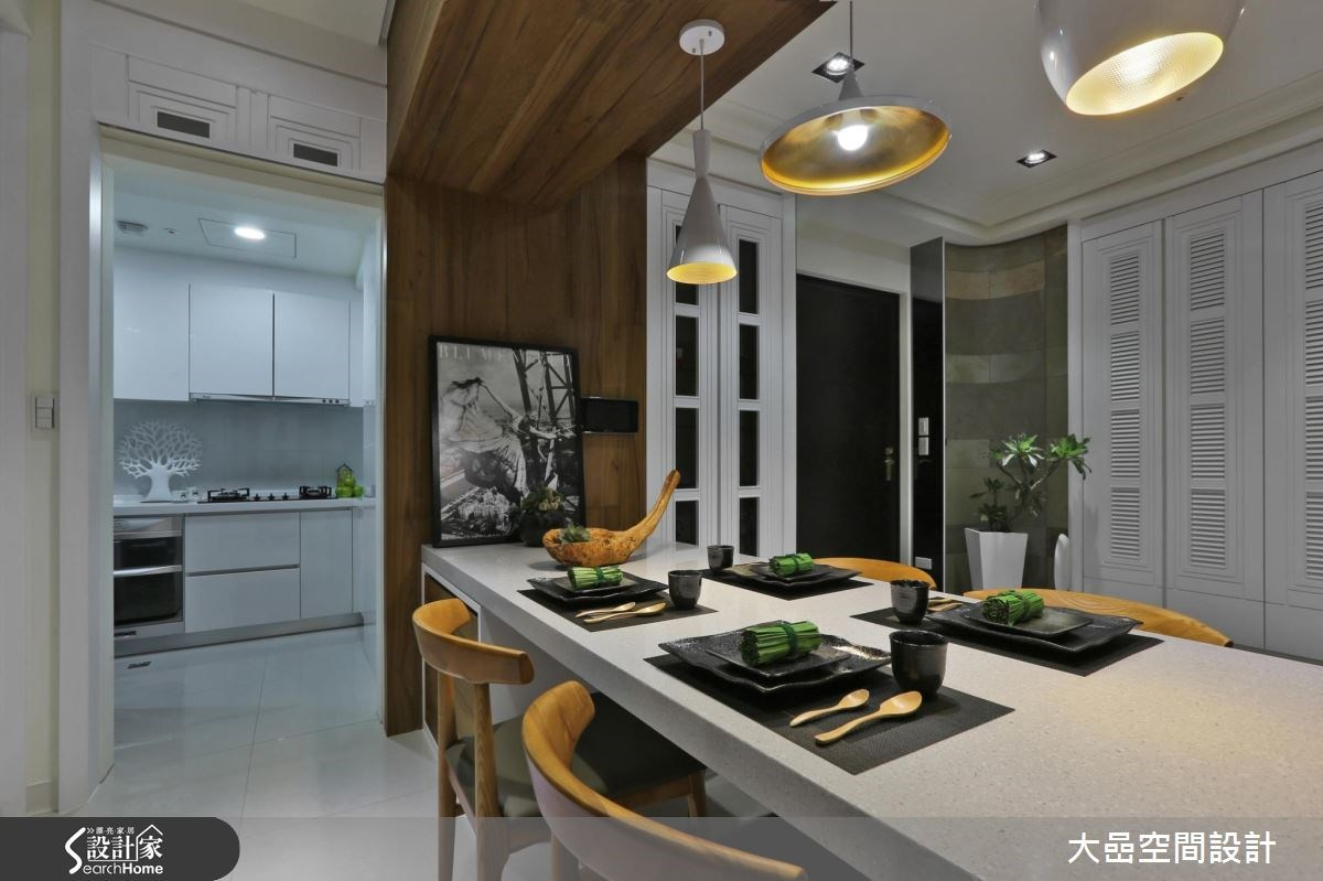 新成屋(5年以下)_美式風餐廳廚房案例圖片_大嵒空間設計_大嵒_14之4
