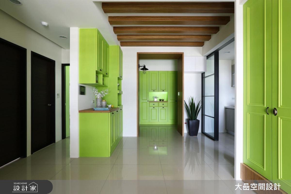 新成屋(5年以下)_鄉村風案例圖片_大嵒空間設計_大嵒_16之1
