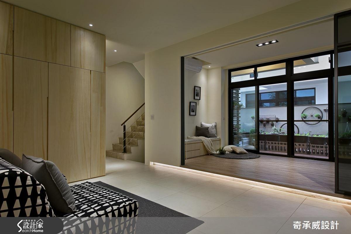 90坪新成屋(5年以下)_混搭風和室案例圖片_楊允幀空間設計_楊允幀_07之2