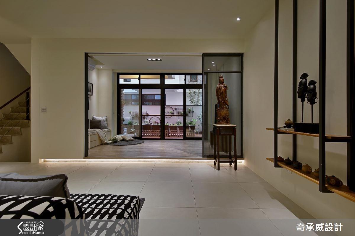 90坪新成屋(5年以下)_混搭風和室案例圖片_楊允幀空間設計_楊允幀_07之3