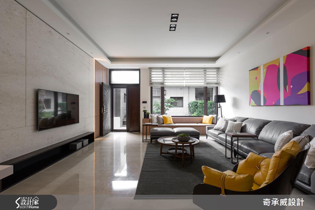 揮灑東方藝術色彩 打造85坪混搭風尚宅