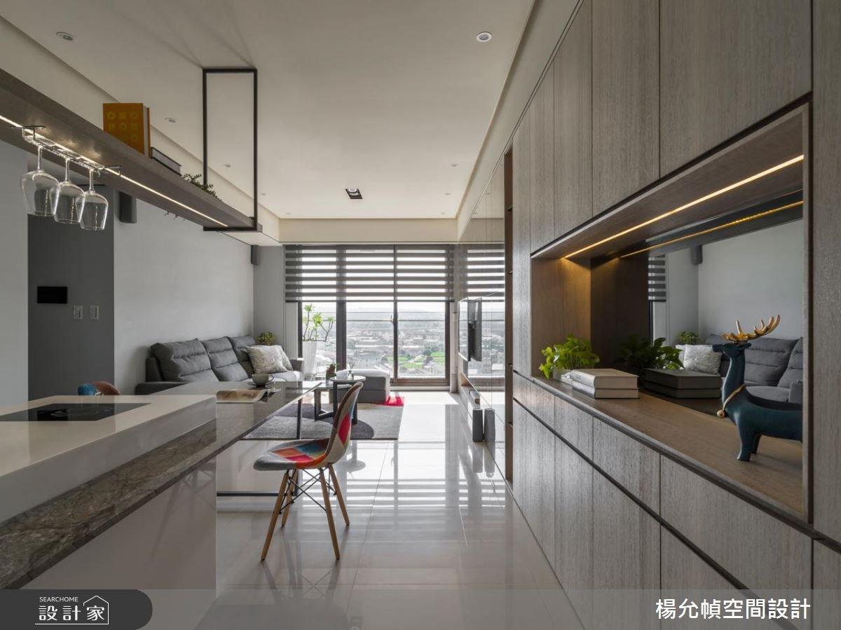 25坪新成屋(5年以下)_現代風餐廳案例圖片_楊允幀空間設計_楊允幀_18之2