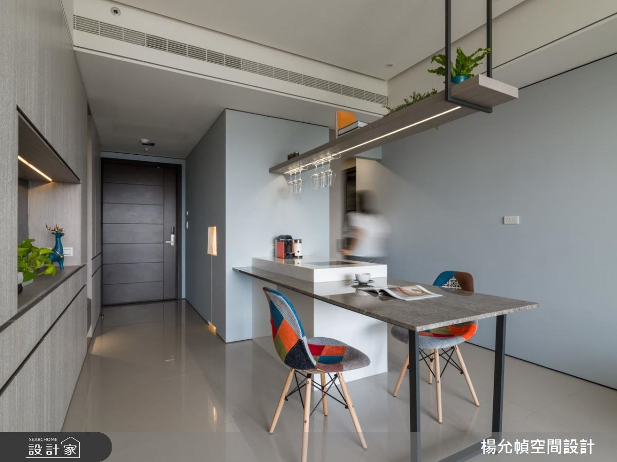 25坪新成屋(5年以下)_現代風餐廳案例圖片_楊允幀空間設計_楊允幀_18之4
