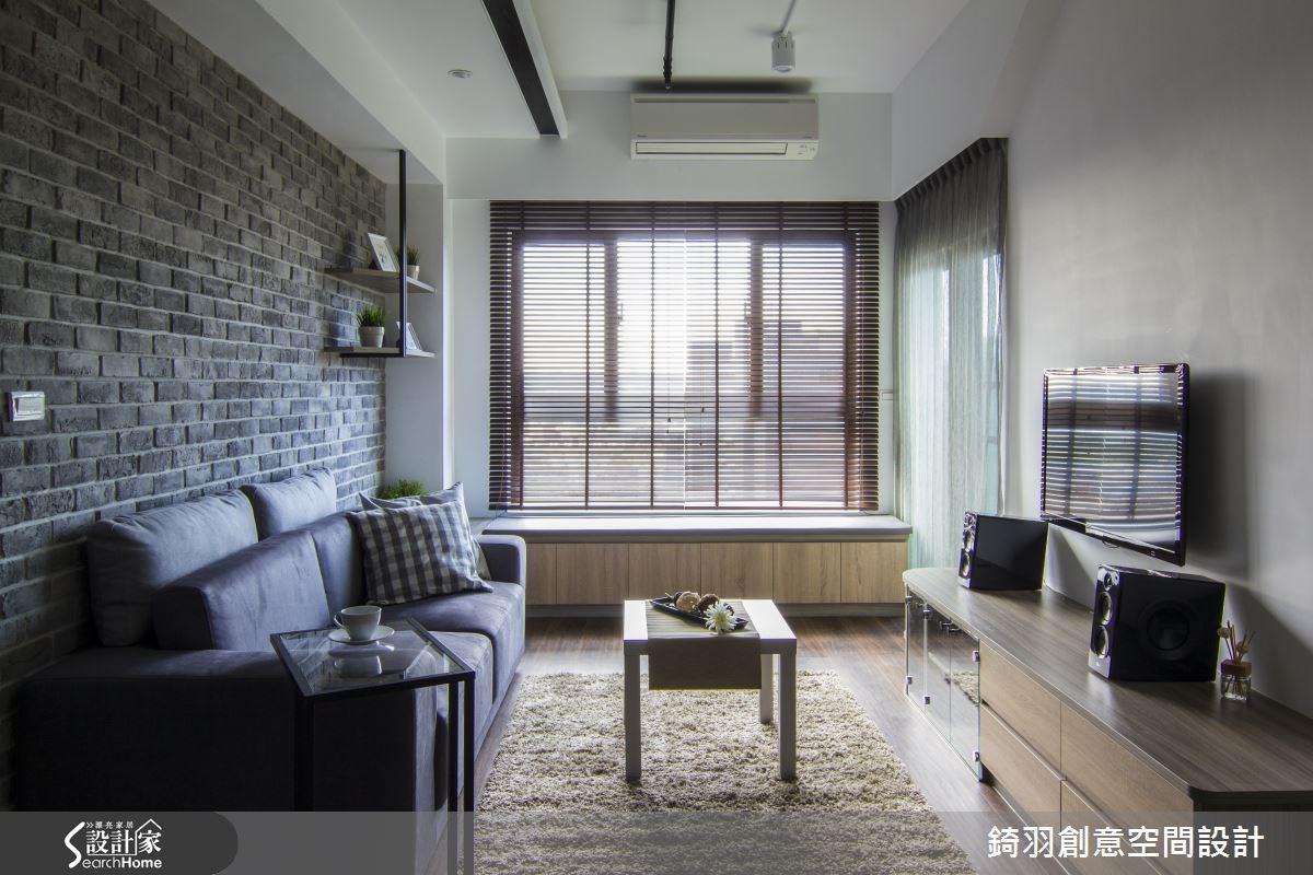 16坪新成屋(5年以下)_簡約風客廳案例圖片_錡羽創意空間設計_錡羽_05之2