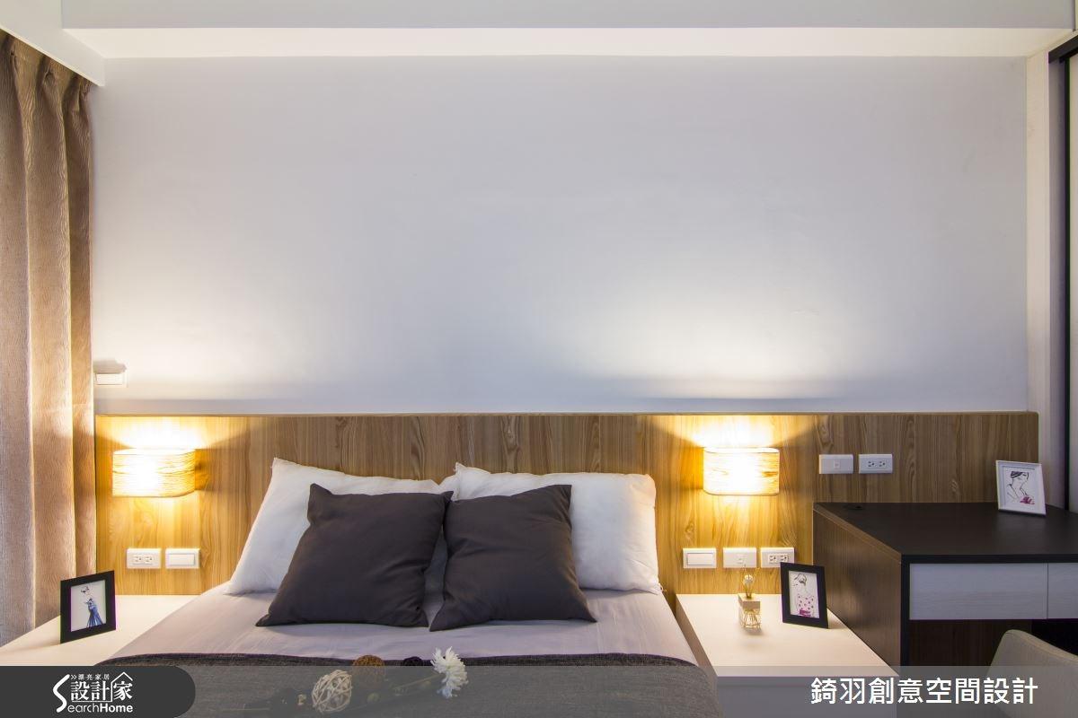 16坪新成屋(5年以下)_簡約風臥室案例圖片_錡羽創意空間設計_錡羽_05之36