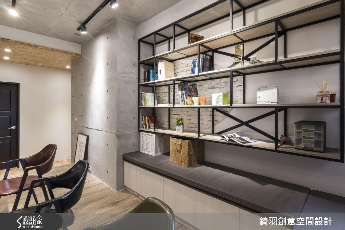 30坪新成屋(5年以下)_工業風書房案例圖片_錡羽創意空間設計_錡羽_08之9