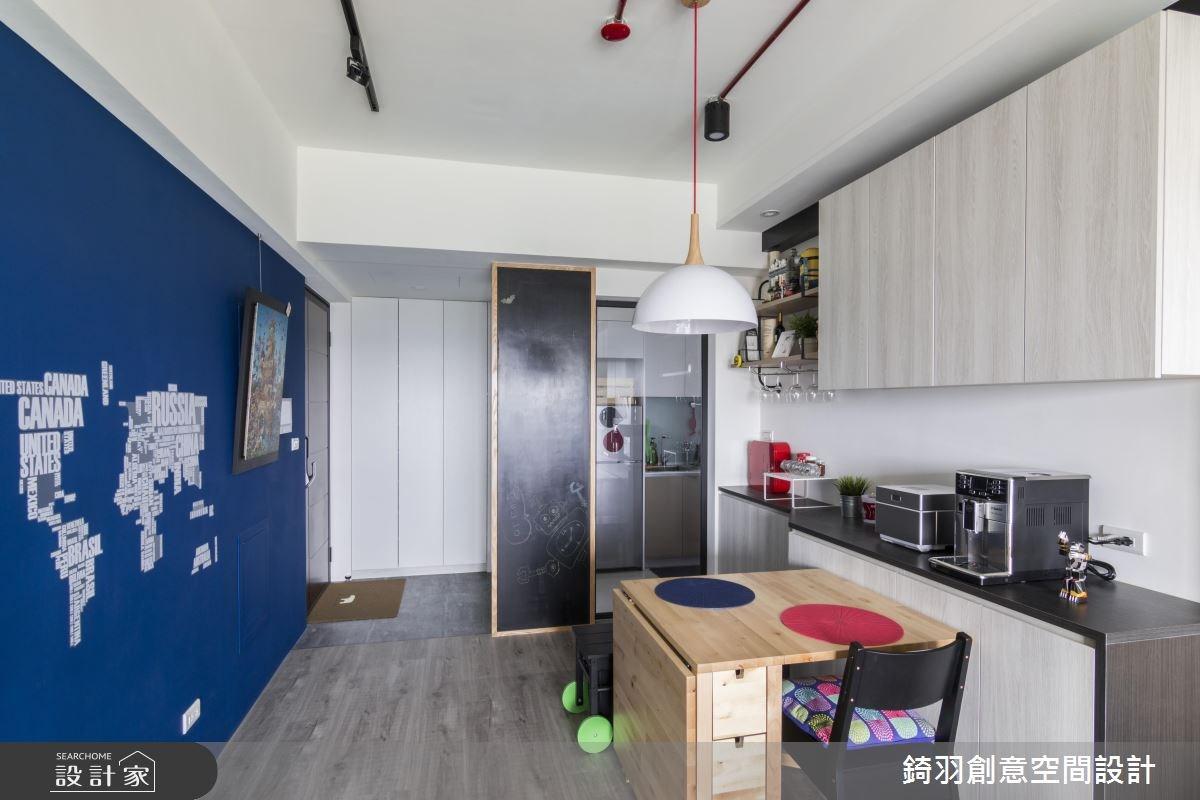 15坪新成屋(5年以下)_工業風餐廳案例圖片_錡羽創意空間設計_錡羽_13之2