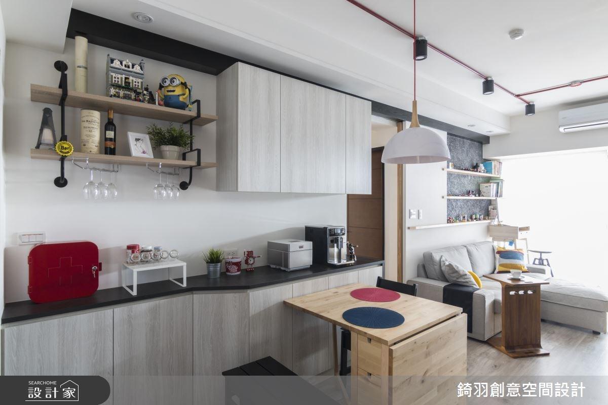 15坪新成屋(5年以下)_工業風餐廳案例圖片_錡羽創意空間設計_錡羽_13之5