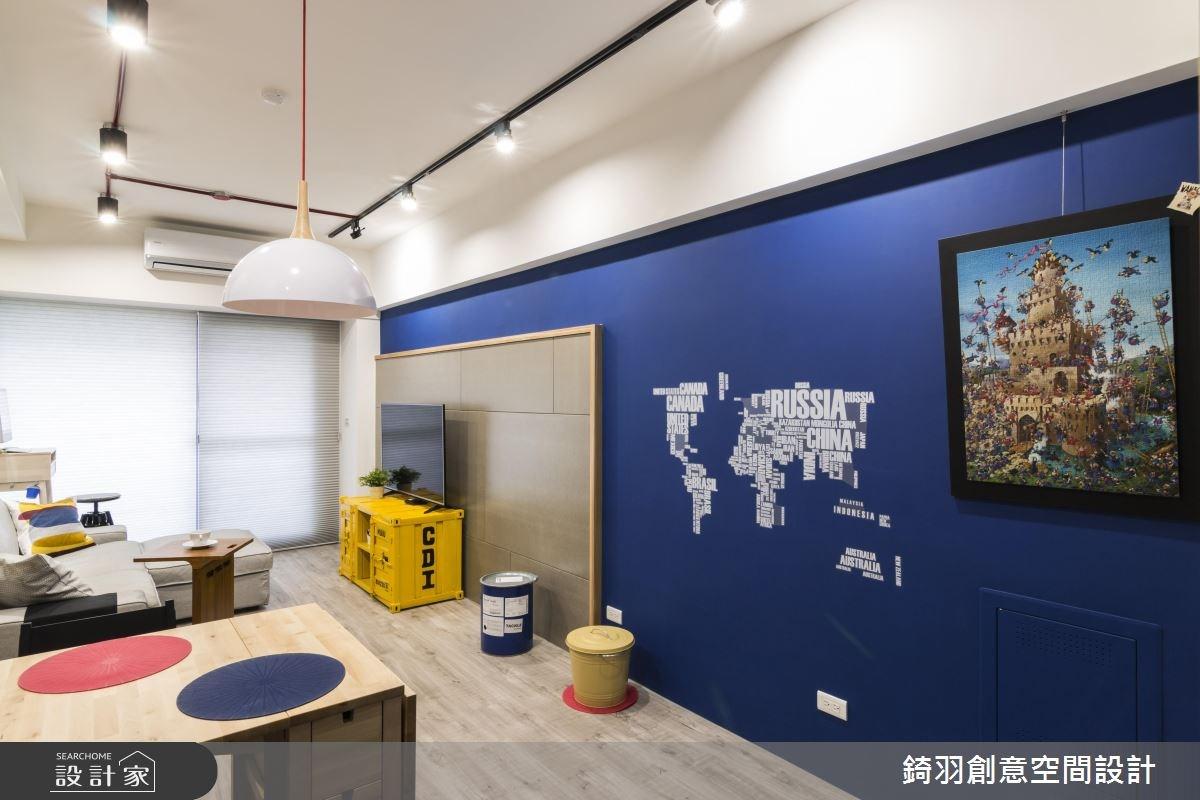 15坪新成屋(5年以下)_工業風餐廳案例圖片_錡羽創意空間設計_錡羽_13之6