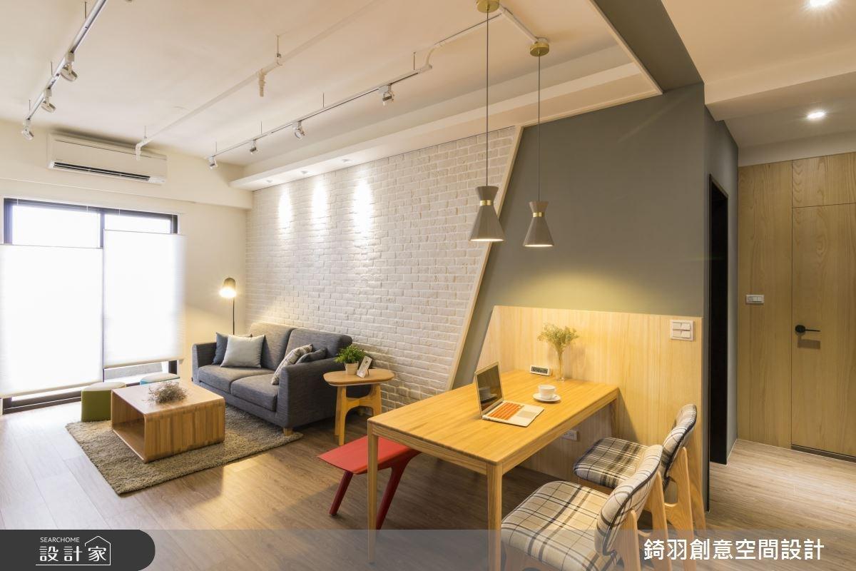 25坪新成屋(5年以下)_北歐風餐廳案例圖片_錡羽創意空間設計_錡羽_15之8
